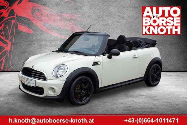 MINI One Cabrio 1,6 bei Autobörse Knoth e.U. in