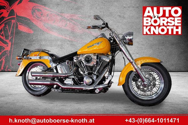 Harley-Davidson Fat Boy FLSTF bei Autobörse Knoth e.U. in