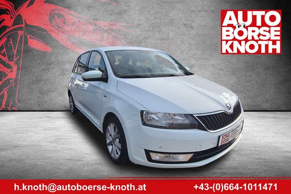 Skoda Rapid/Spaceback Rapid Spaceback 1,4 TDI Sport DSG bei Autobörse Knoth e.U. in