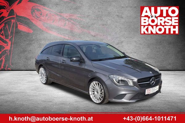 Mercedes-Benz CLA 200 CDI / d CLA -Klasse Shooting Brake (BM 117) bei Autobörse Knoth e.U. in