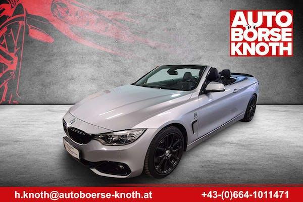 BMW 428 4er-Reihe Cabrio (F33)  Cabrio Öster-Paket Aut. bei Autobörse Knoth e.U. in