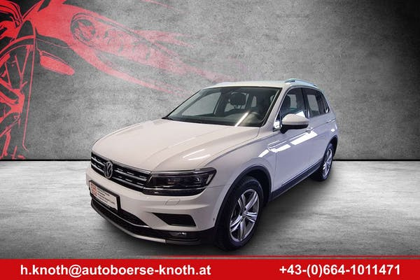 Volkswagen Tiguan 2,0 TDI SCR 4Motion Highline DSG bei Autobörse Knoth e.U. in
